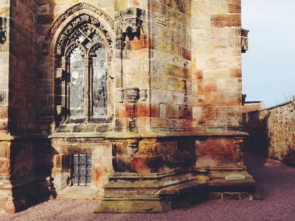 Scozia Edimburgo Rosslyn Chapel