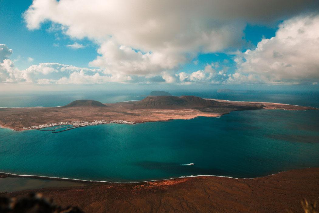 Mirador del Rio La Graciosa Lanzarote - Isole canarie quale scegliere