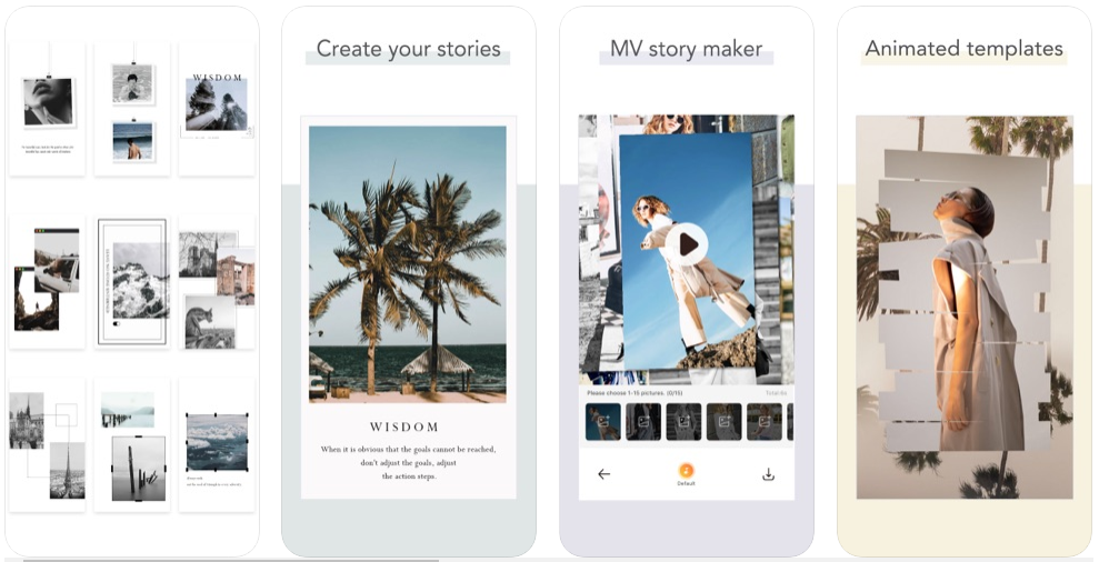 Story chic app instagram foto editing