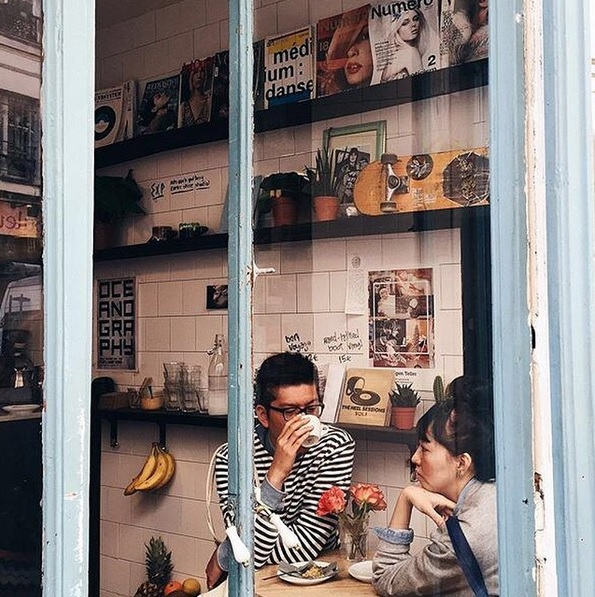 Boot cafè Parigi Paris