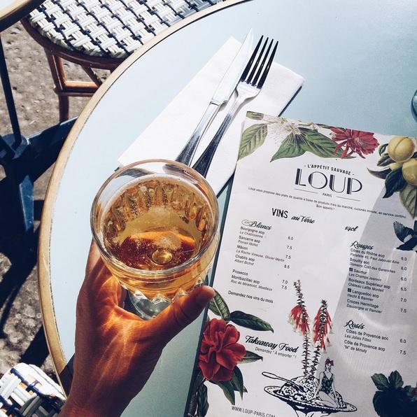 Loup cafè Paris Parigi
