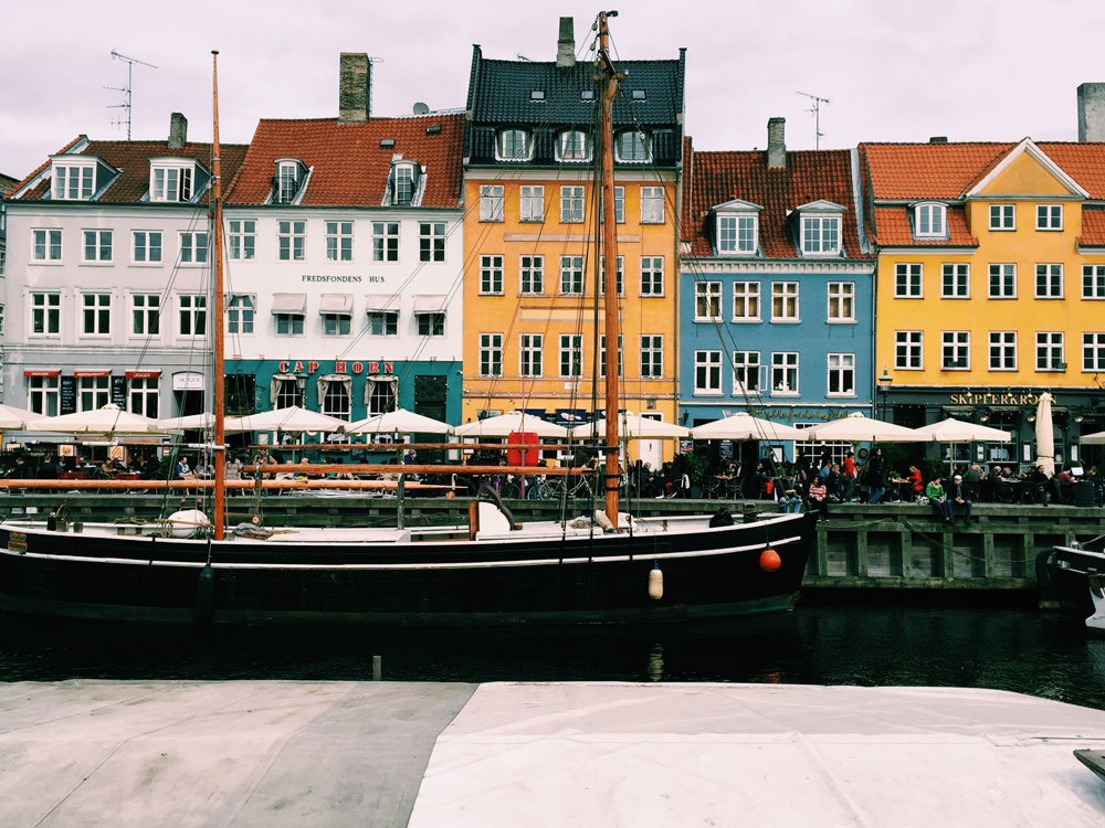 nyhavn cos vedere a copenaghen