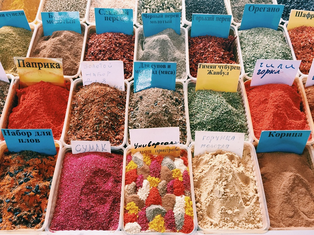 green bazar di almaty kazakistan