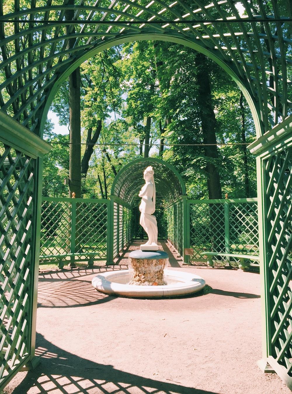 San Pietroburgo Giardino d'estate