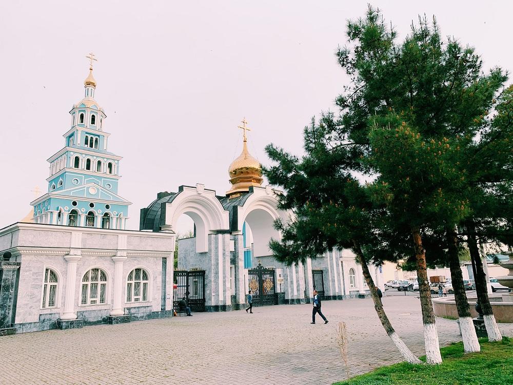 Chiesa russa tashkent - cosa vedere a tashkent