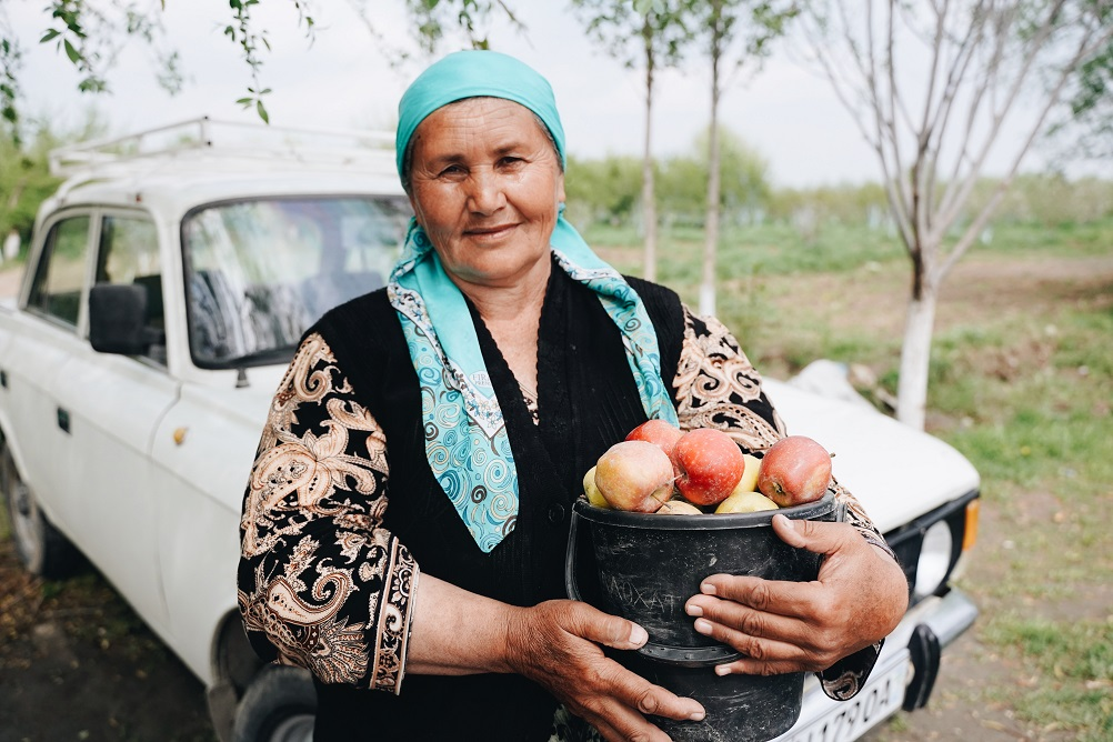 Fergana Uzbekistan woman