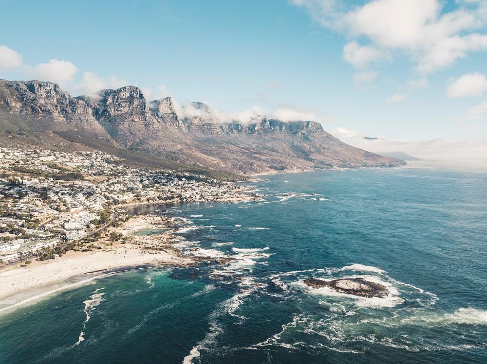 cape town africa mare inverno