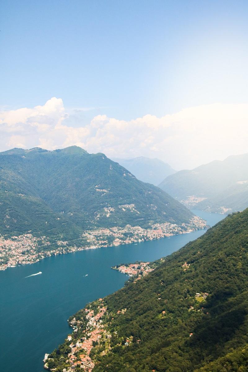 como lago trekking in italia