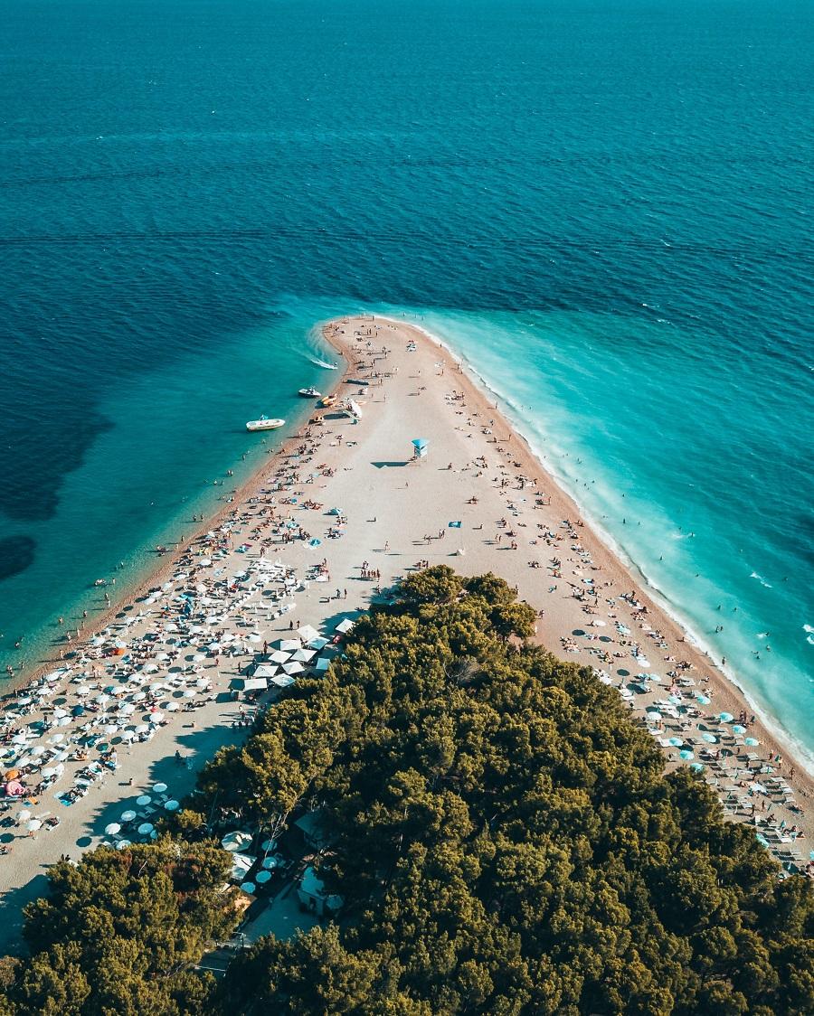 Isola di Brač & Spiaggia di Zlatni Rat croazia cosa vedere