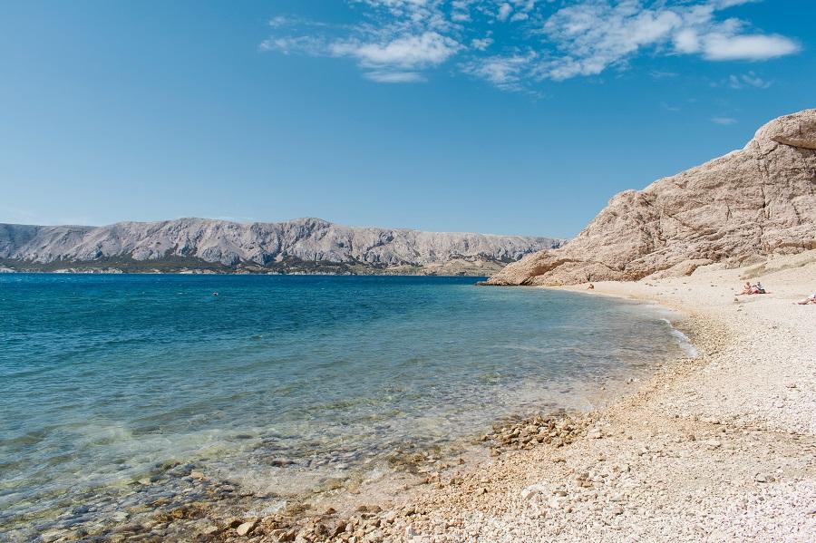 Spiaggia Beritnica, Metajna croazia croazia