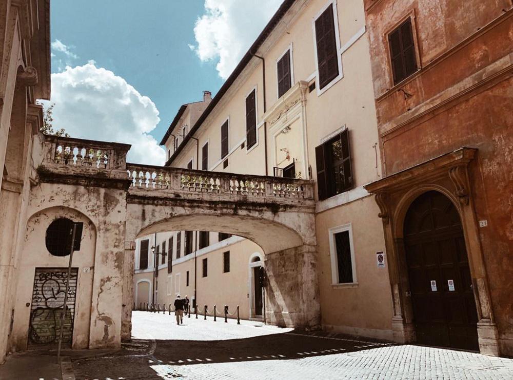 arco farnese- quartieri di roma da vedere
