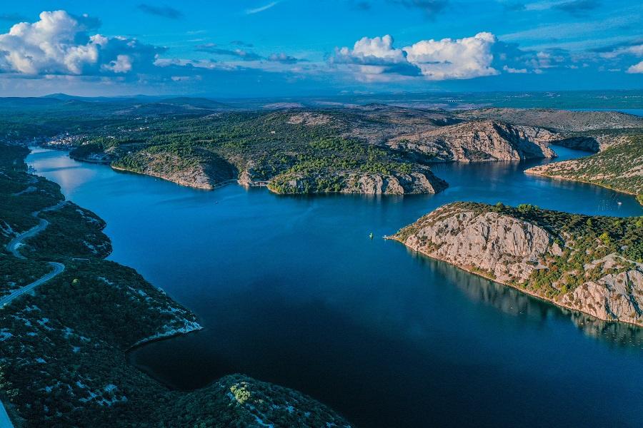 lago di Prokljan croazia