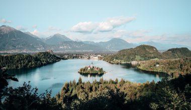 Lago di Bled Slovenia Penisola Balcanica