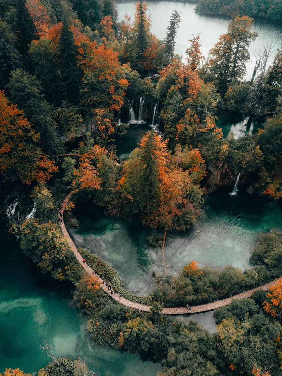plitvice lake croatia laghi croazia