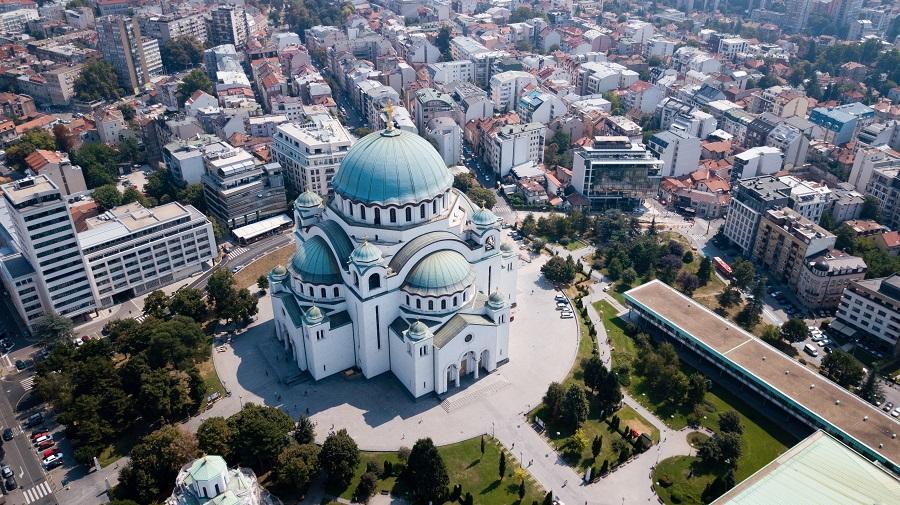 Belgrado Serbia Balcani