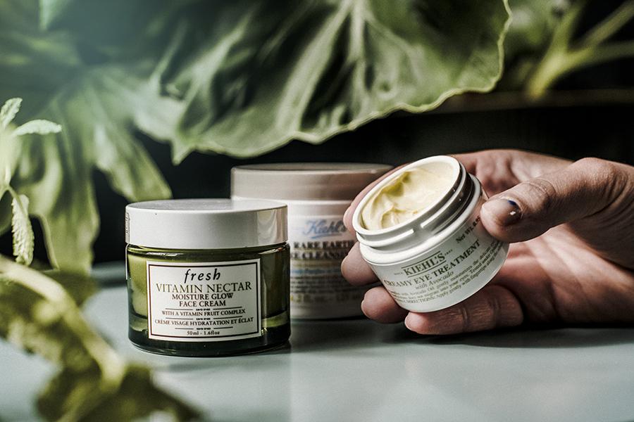 creamy eye treatment khiel's skin care viso beauty routine