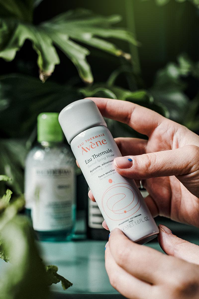 eau thermale avene spring waterbeauty routine skincare viso