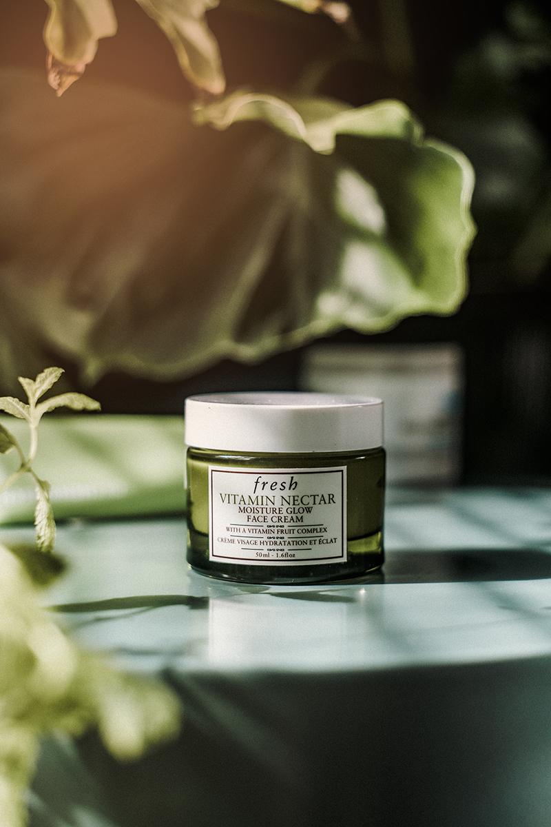 vitamin nectar moisture glow face cream fresh skincare viso beauty