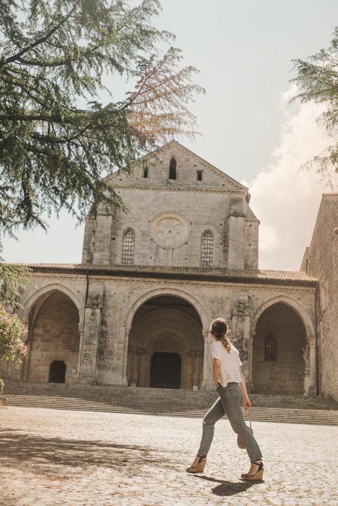 abbazia casamari cosa vedere vicino roma lazio