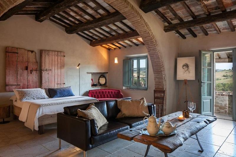 casa vacanza val d'orcia hotel in toscana