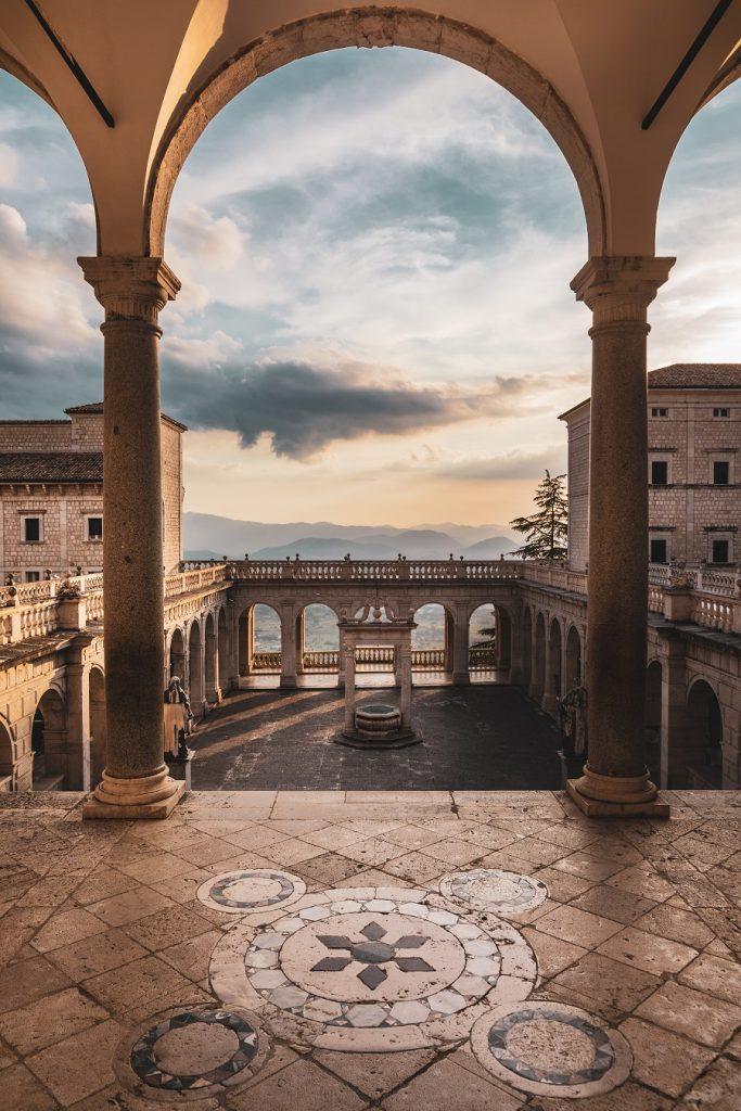 abbazia di monteccasino cosa vedere vicino roma lazio