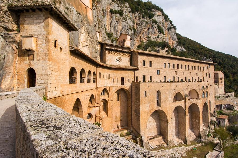 abbazia monastero subiaco lazio