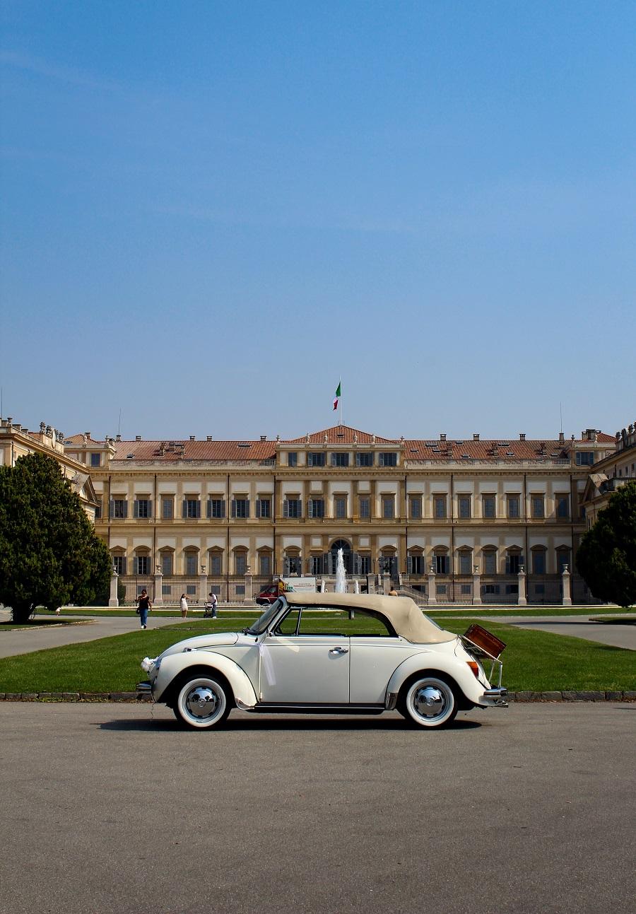Foto della Villa Reale di Monza, unsplash