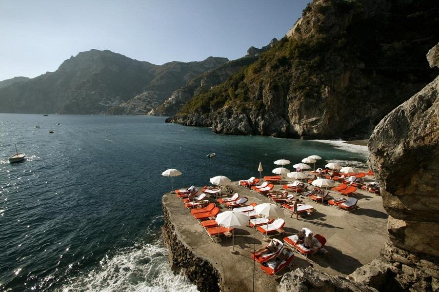 dove dormire a positano hotel con spiaggia privata