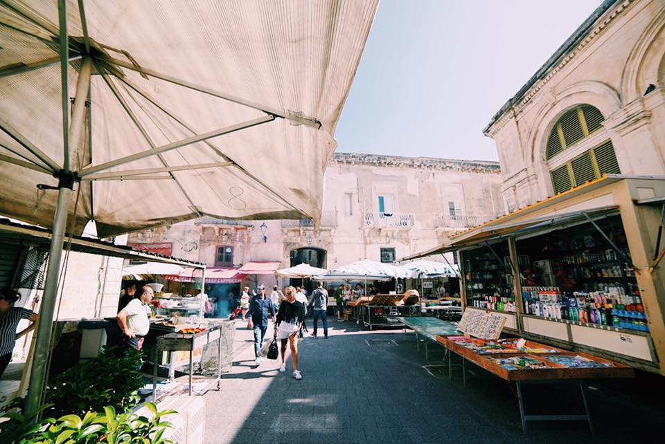 mercato cittadino ad ortigia siracusa