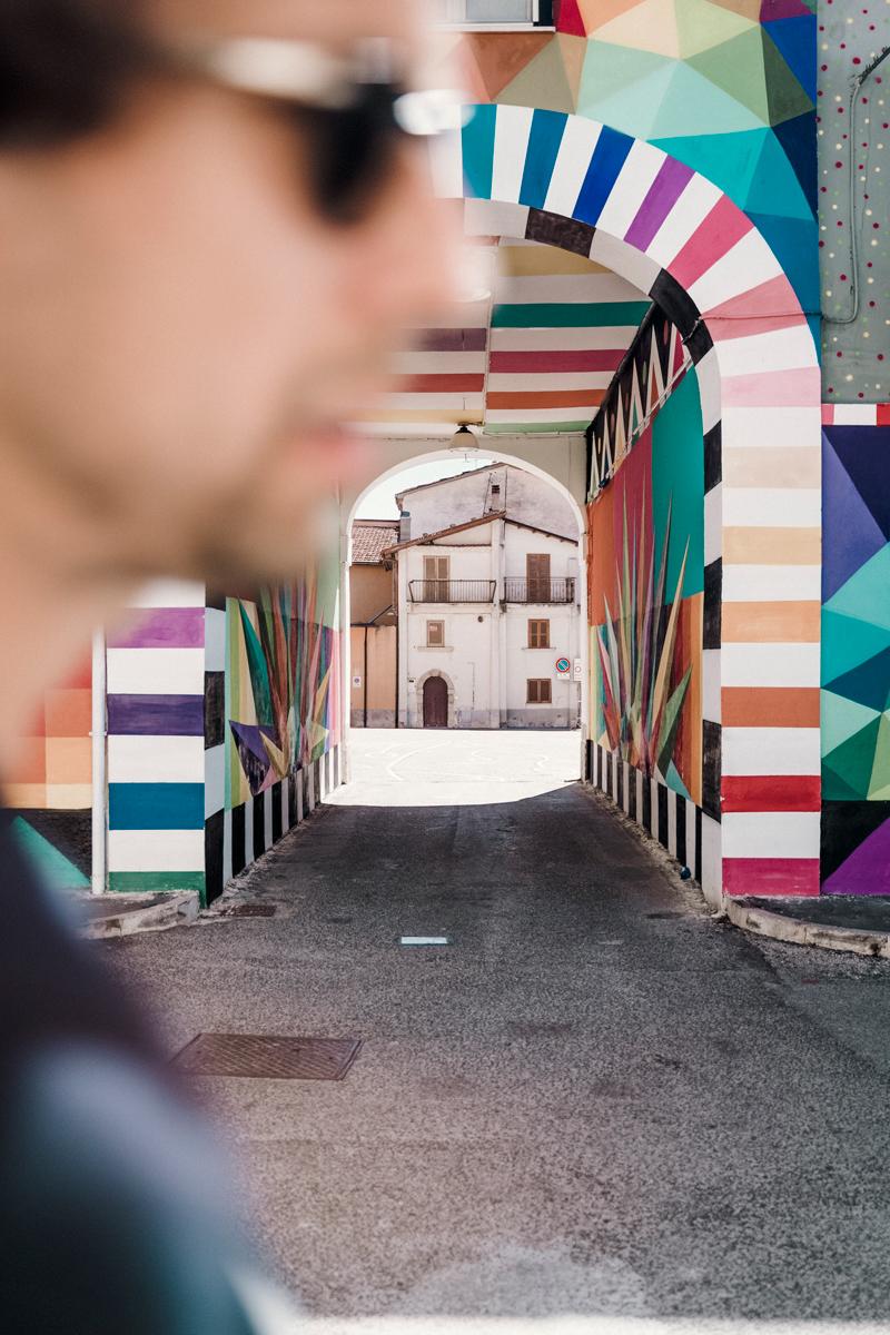 borgo universo street art