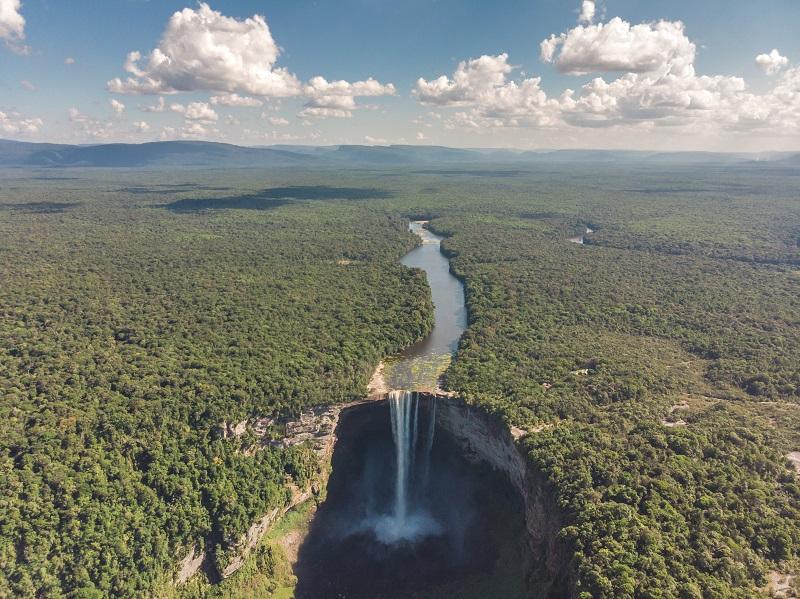 Kaieteur Falls in Guyana 0