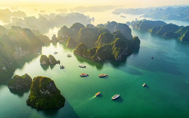 halong bay, vietnam posti bellissimi del mondo