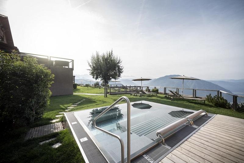 hotel belvedere con piscina trentino