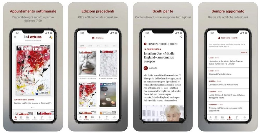 App La lettura rivista letteraria la stampa