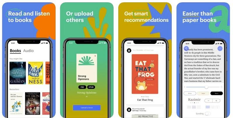bookmate app per chi legge