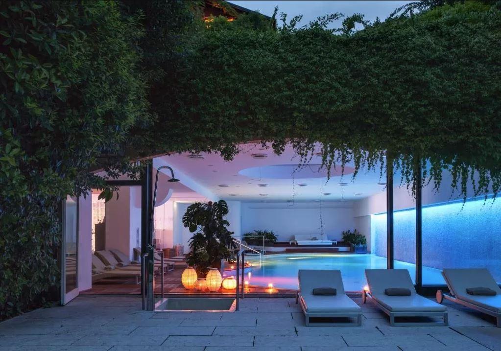 alberata hotel con spa vicino milano