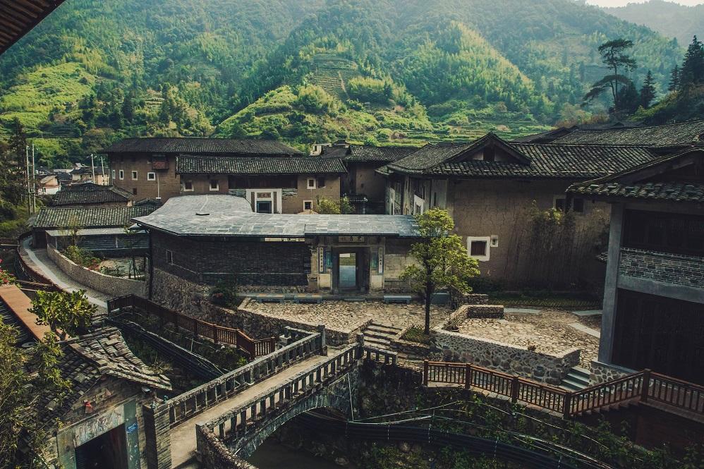 Tsingpu Tulou Retreat, Zhangzhou, Cina