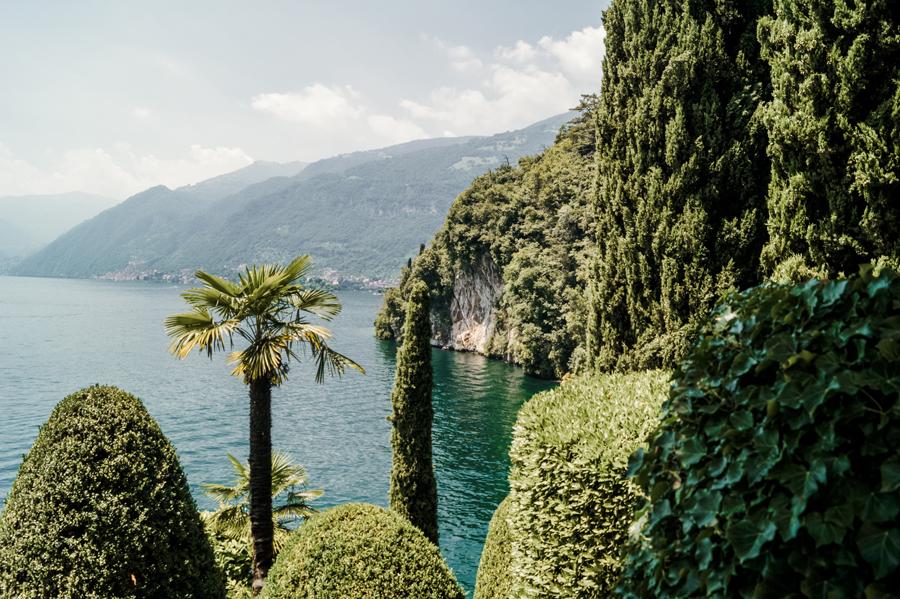 Foto dai giardini di Villa Balbianello, nella guida su cosa vedere vicino como