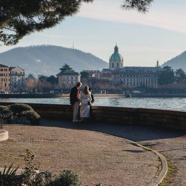 Foto del lungolago a Como, tra le cose da vedere a Como