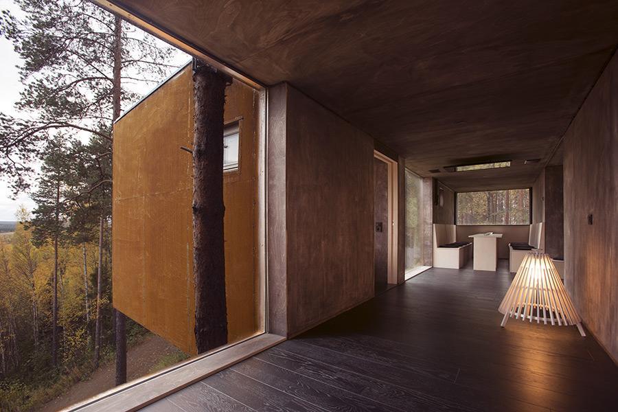 Treehotel draonfly interiors design hotel remoti del mondo