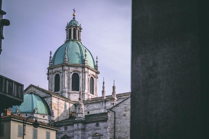 Foto della cattedrale di como, nella lista su Cosa vedere a Como