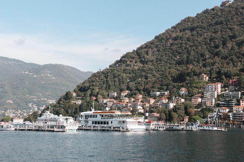 Foto del Lago di Como, cosa vedere a Como in un giorno