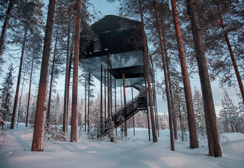 treehotel cabin 7 design hotel remoti del mondo