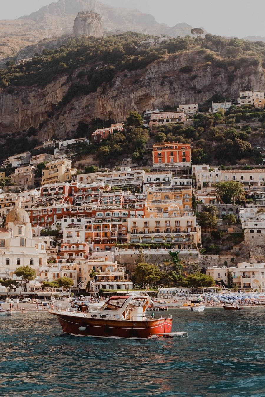 Foto di Positano, Costiera Amalfitana, nella guida su osa vedere in Campania