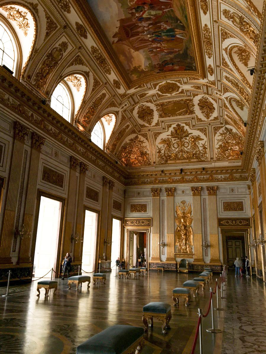 Foto della Reggia di Caserta, tra le cose da visitare vicino Napoli
