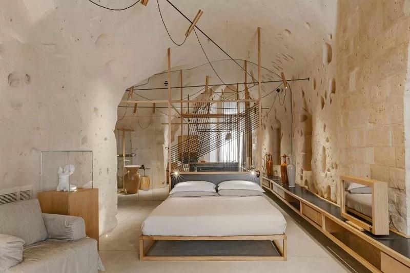 Foto di ua grotta dove dormire in Italia