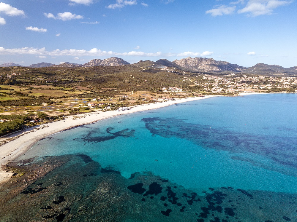 Foto della spiaggia sarda bellissima di Pittulongu