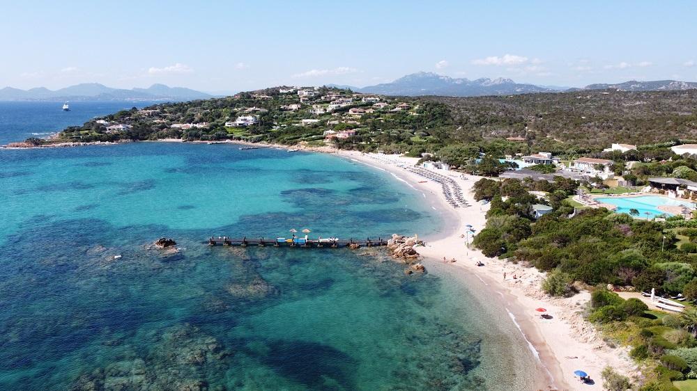 Foto della Spiaggia di Romazzino in Sardegna, tra le spiagge più belle d'Italia