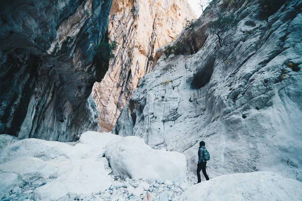 Foto del canyon Garroppu, nella guida su cosa vedere in Sardegna