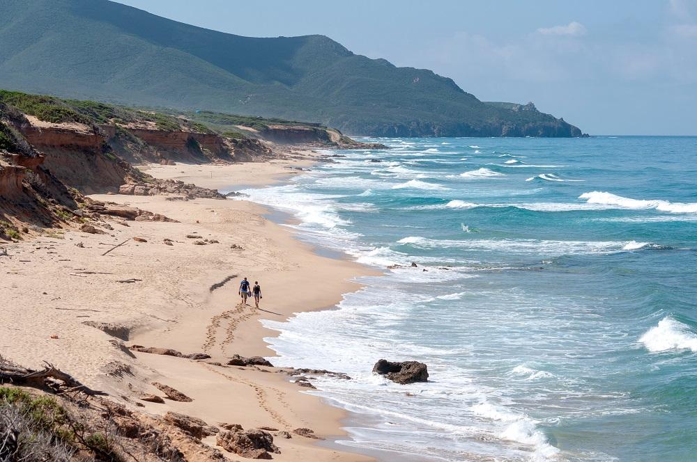 Foto delle dune della spiaggia di Piscinas, nella guida su cosa vedere in Sardegna assolutamente
